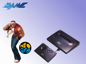 fond d'écran Mame Neo Geo