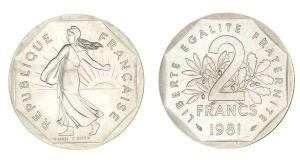 piece de 2 francs
