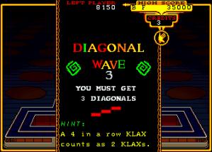 Vous devez réaliser trois diagonales pour finir le niveaux.
