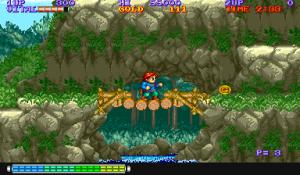 J'aime bien les graphismes du jeu. 1988, je vous le rappelle.