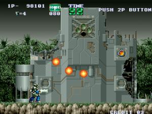 Le premier Gunforce en 1991, les bases sont déjà là.
