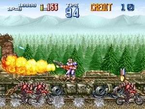 1994, gunforce 2, des graphismes plus fins et un jeu bien bourrin.