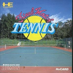 final match tennis