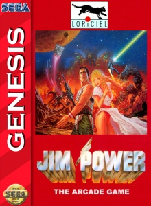jim power the arcade game