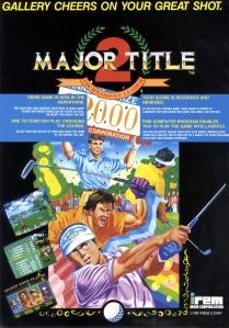 major title 2 tournament leader