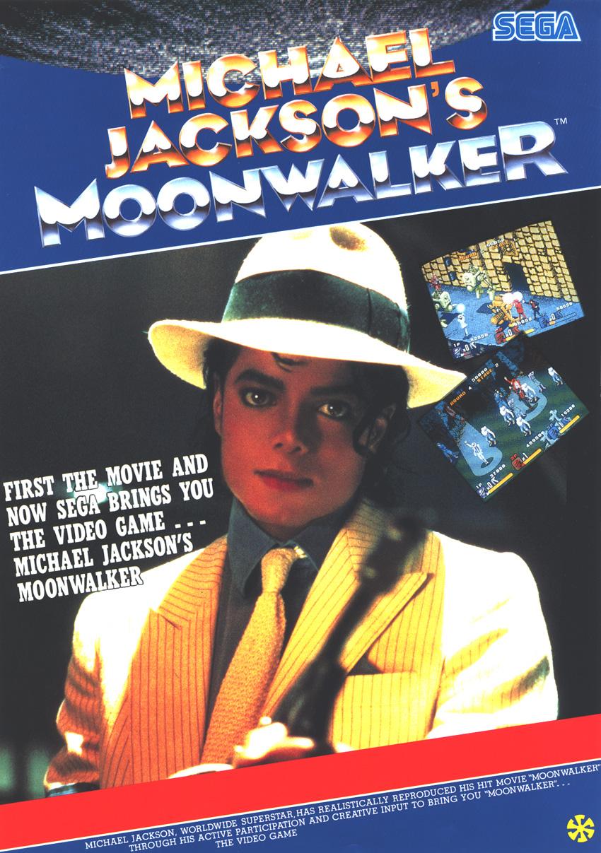 test du jeu michael jackson s moonwalker mame arcade retrocaming retrogaming. Black Bedroom Furniture Sets. Home Design Ideas